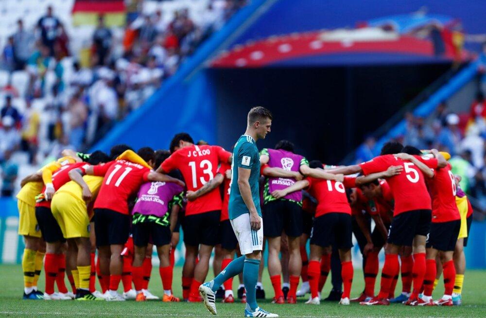 MM-i KOLUMN | Janno Kivisild: Saksamaa jalgpalli ootavad ees pingelised ajad. Kummardus Lõuna-Koreale