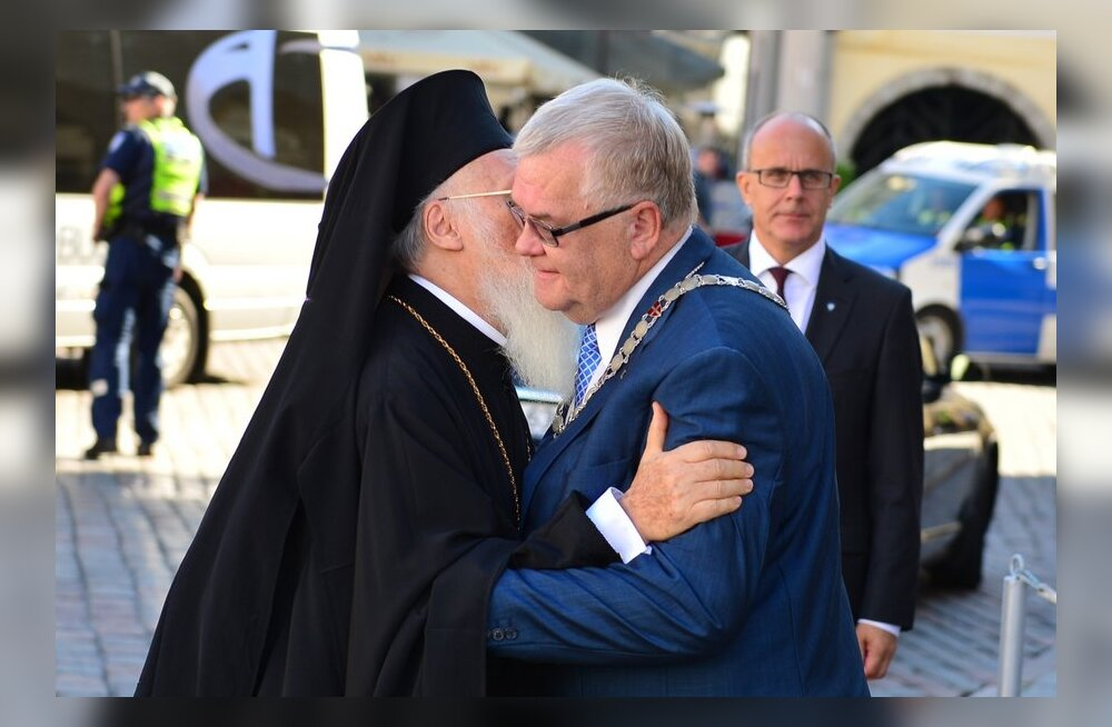 Patriarh Bartolomeus Vanalinnas