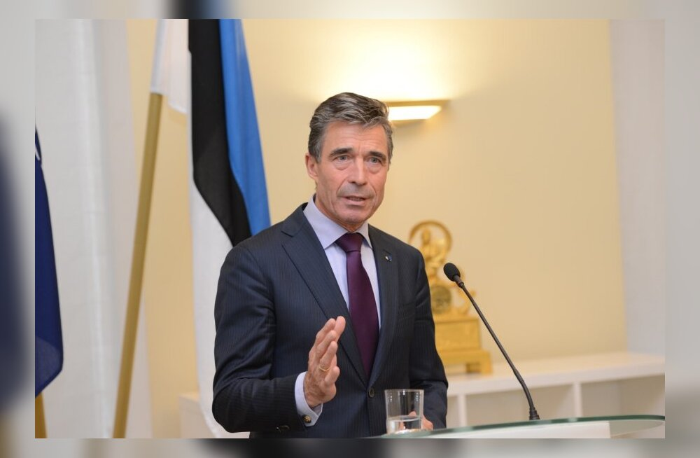 ФОТО: Расмуссен — опасность Эстонии не угрожает, она является членом НАТО