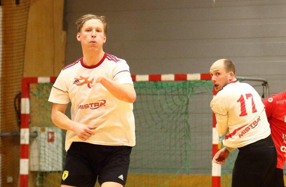 Põnevusõhtu käsipalli meistriliigas tõi Tallinn-Kehra viigi ja Raasikule esimesed punktid