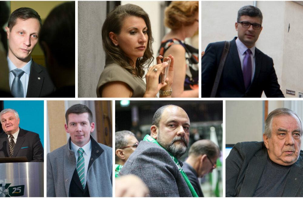 Seitse keskerakondlast jättis riigikogu juuniküüditamise avalduse poolt hääletamata