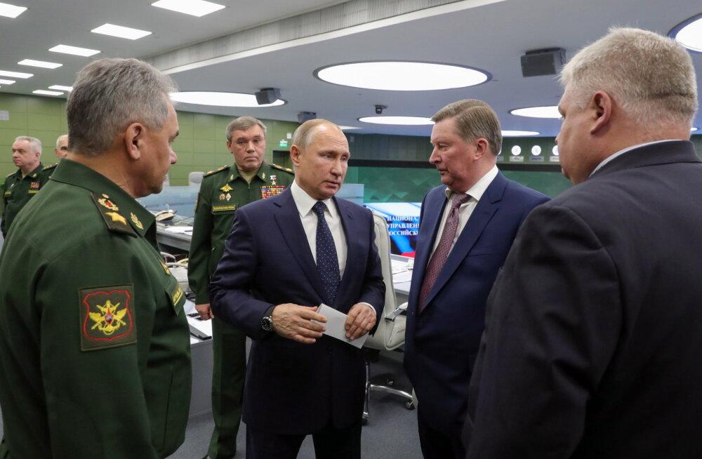 Moskva teatas üle-helikiirusega relvasüsteemi kasutuselevõtust