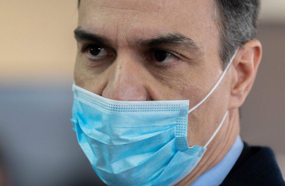 Hispaania peaminister: ELi ellujäämine sõltub selle vastusest koroonaviirusest tingitud krahhile