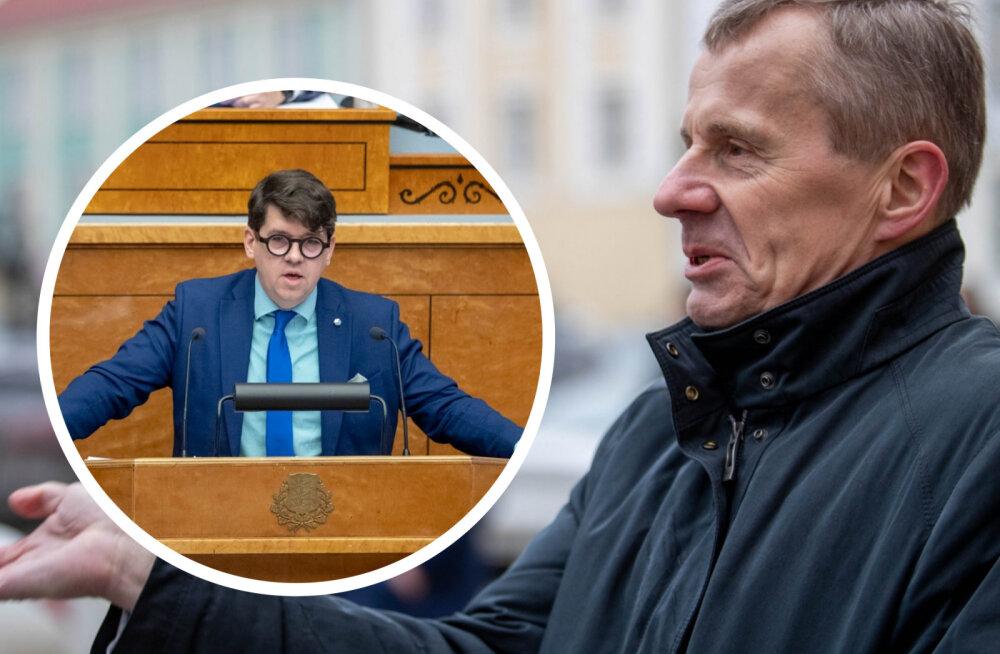 Jürgen Ligi: nüüd on selge, kust tuli käsk terviseametile