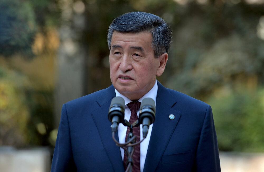 Kõrgõzstani president on valmis teatud tingimustel ametist loobuma