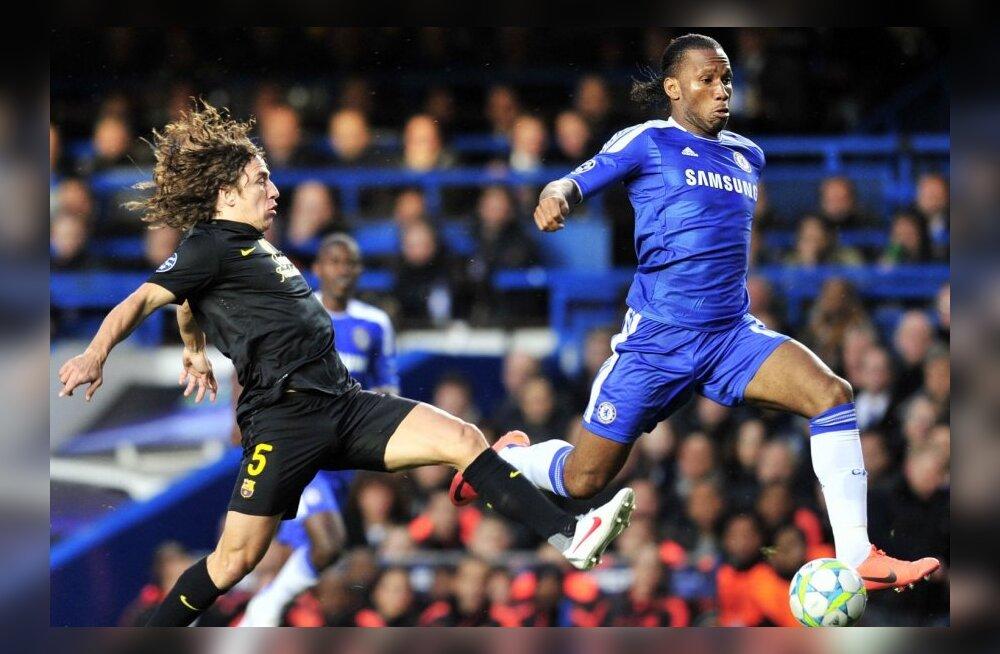 VIDEO: Londoni Chelsea võttis Barcelona vastu täiusliku võidu!