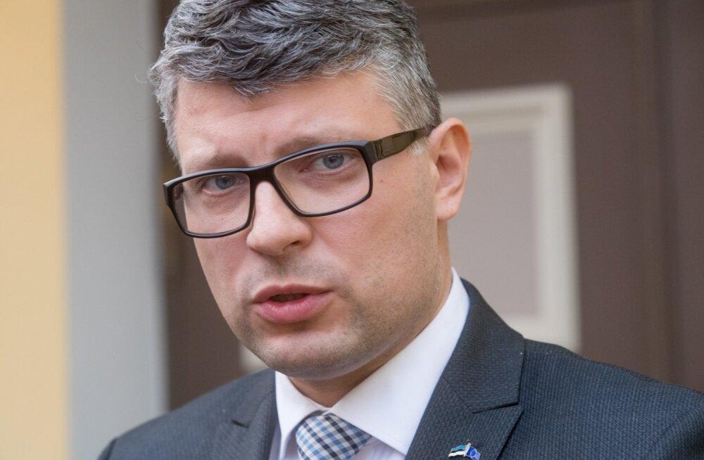 Keskerakonna peasekretär Mihhail Korb
