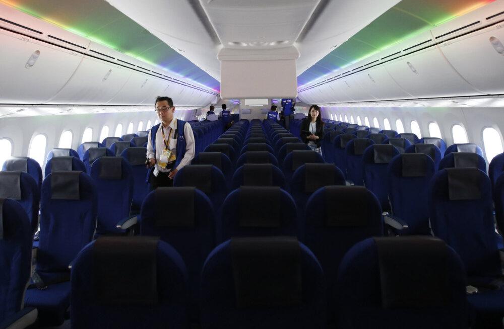 Jaapani lennufirmad aitavad reisijail kriiskavatest imikutest kaugele hoida