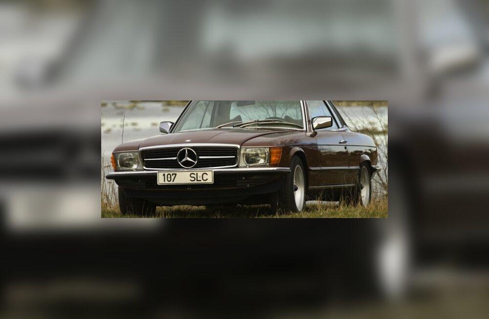 Mercedes-Benz 450 SLC, foto Vallo Kruuser