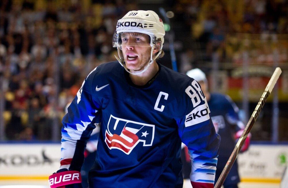 Kas Patrick Kane viib USA üle pika aja kullale?