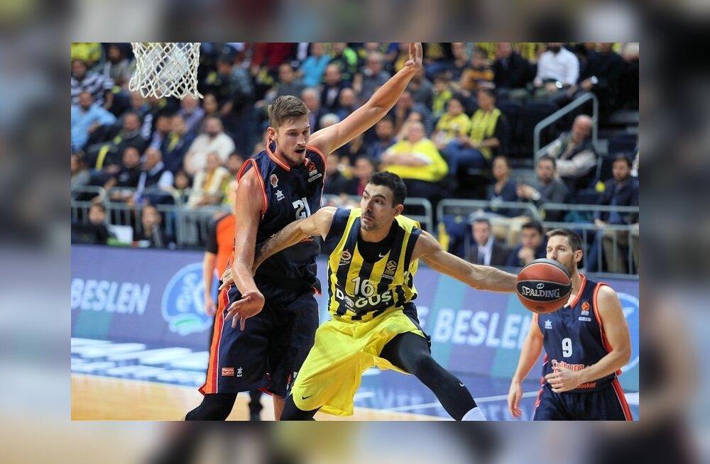 Fenerbahce vs Valencia, Kostas Sloukas
