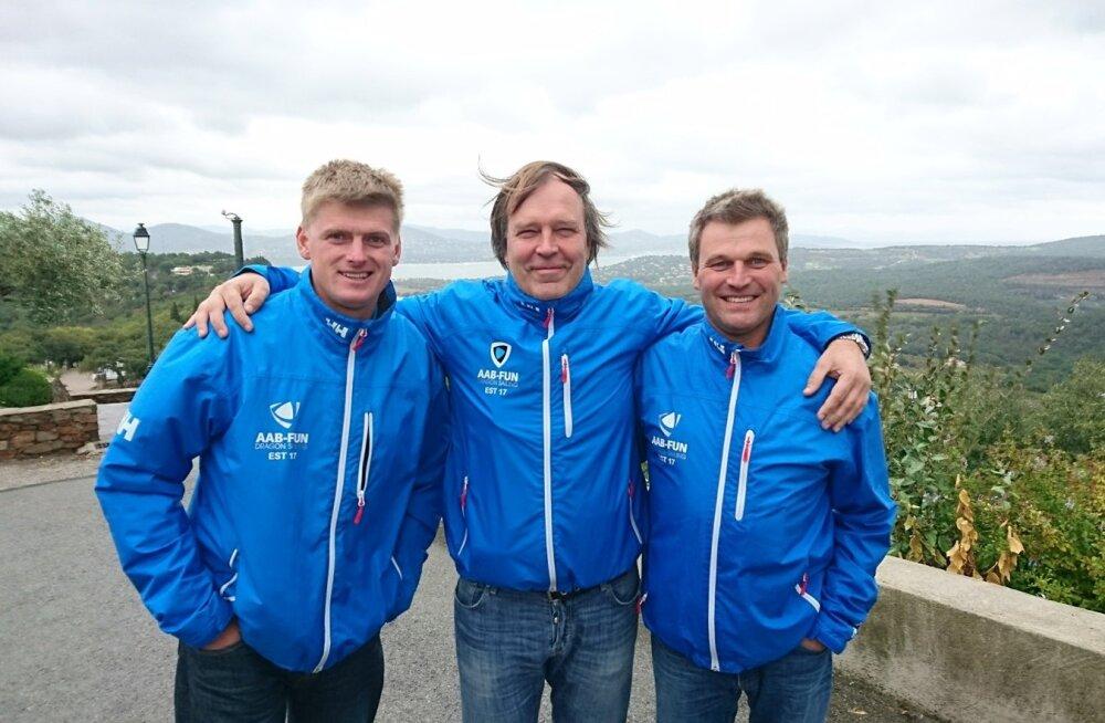 Vitamin-One meeskond Mihkel Kosk, Aare Võsu ja Niklas Jansson