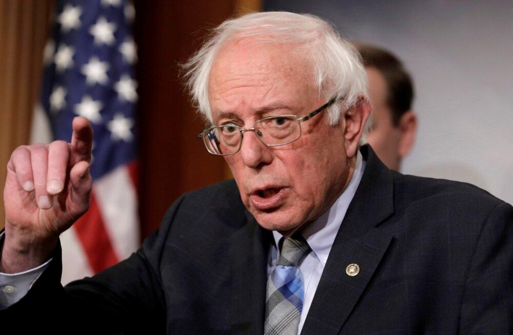 """""""Demokraatlik sotsialist"""" Bernie Sanders teatas 2020. aastal taas USA presidendiks kandideerimisest"""