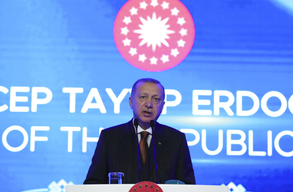 Türgi president Erdoğan: me ei toeta NATO Balti riikide kaitseplaani, kui meie vaenlasi terroristideks ei tunnistata