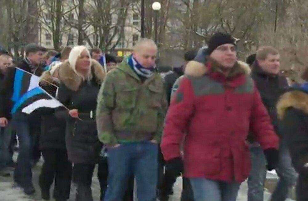 Venekeelne BBC: Tallinnas marssinud eesti rahvuslased on sisserändajate vastu, aga venelaste poolt