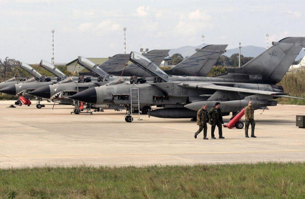 Itaalia õhujüudude Tornado hävitaja-pommitajad