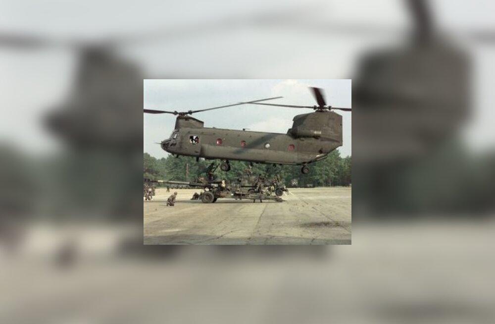Iraagi kopteriõnnetuses hukkus 7 USA sõdurit