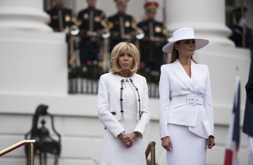 Prantsuse esileedi paljastab, et Melania Trump on Valges Majas kui vang! Ta ei tohi isegi akent avada