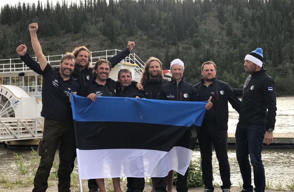 Eestlased võidutsesid maailma pikimal aerutamise maratonil
