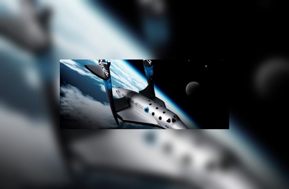 Virgin Galacticu rool läheb vormelipiloodi pihku