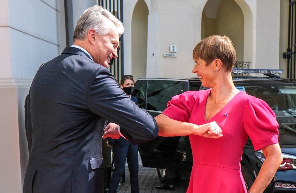 President Kersti Kaljulaid kohtus täna Leedu riigipea Gitanas Nausedaga.
