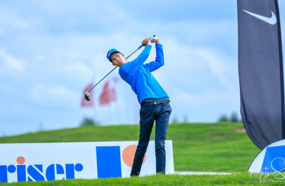 Eesti golfi meistrivõistlustel on enne viimast päeva juhtimas tiitlikaitsjad