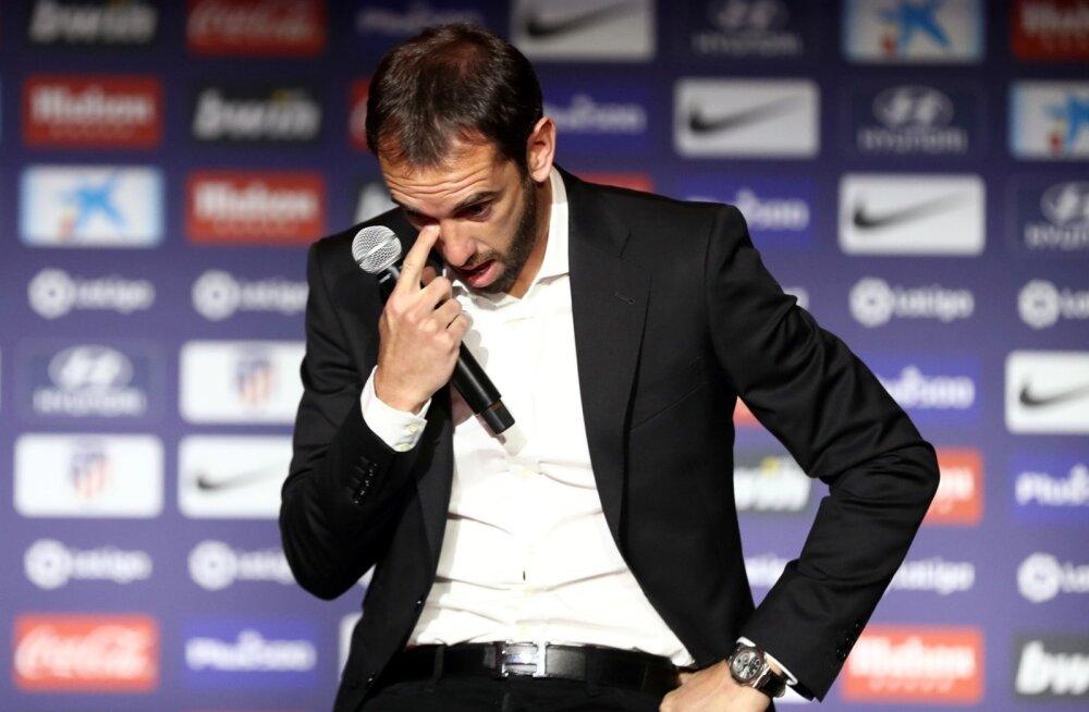 Diego Godin teatas, et ta lahkub Madridi Atleticost.