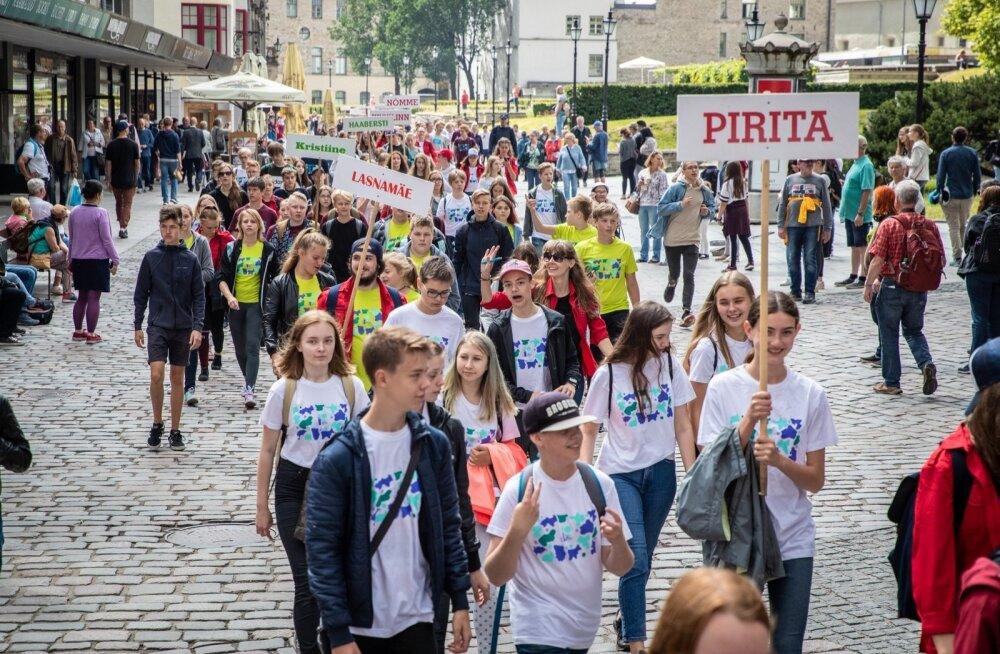 Eesti õpilasmaleva 2018. aasta malevasuve avamine