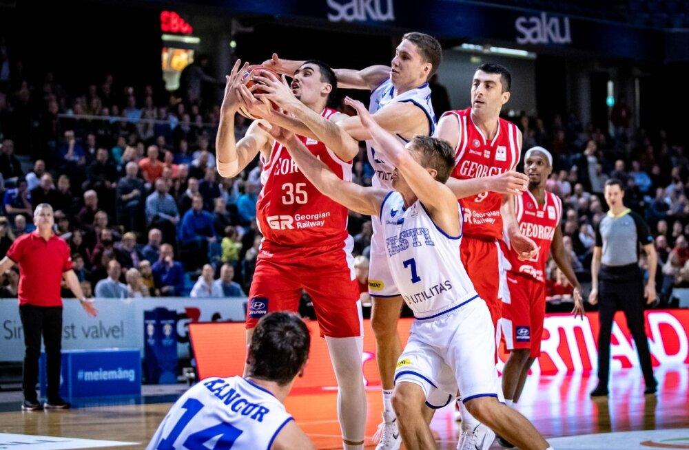 Eesti korvpallikoondise MM-valikmäng Gruusiaga, Goga Bitadze (nr 35)