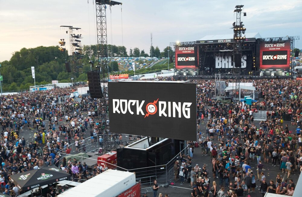 Suur saksa rockfestival Rock-am-Ring katkestati terroriohu tõttu, publik evakueeriti