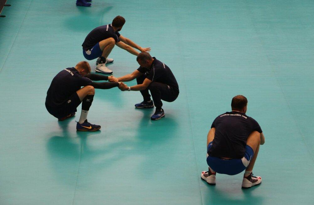 DELFI BELGIAS: Valgevene ninamees avaldas, mis on Eesti võrkpallikoondise ainuke nõrkus