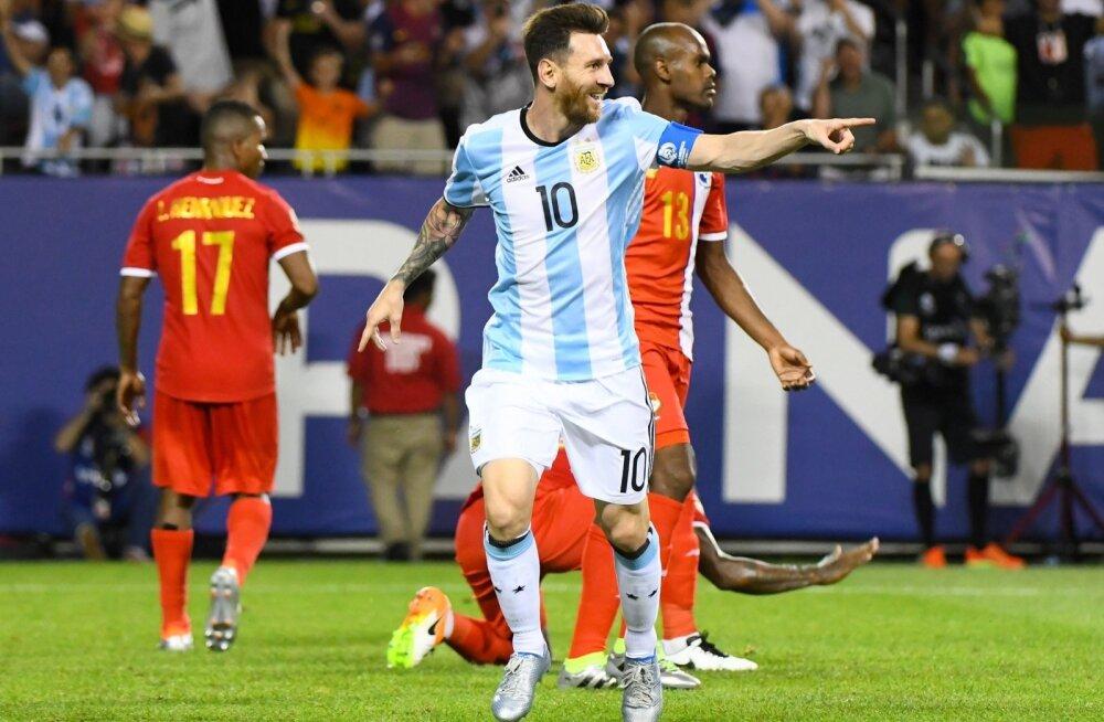 Lionel Messi on pärast kerget vigastust koondises tagasi