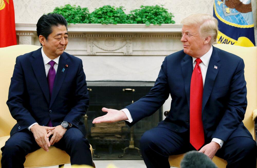 СМИ: Премьер-министр Японии выдвинул Дональда Трампа на Нобелевскую премию по просьбе Вашингтона