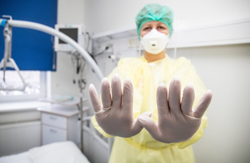 Selline palat on Merimetsa nakkushaiglas valmis patsientideks, kellel tuvastatakse koroona. Praegu on Eestis üks nakkuse saanud inimene.