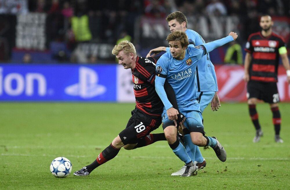 Barcelona ja Bayeri mäng