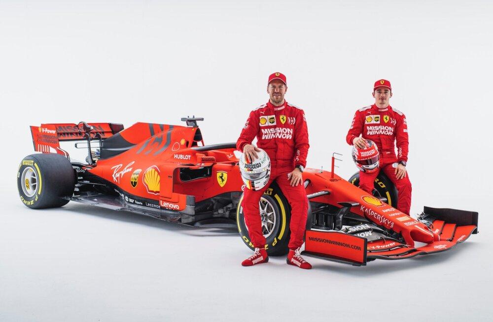 Vettel: Charles Leclerc on sel aastal tiitlipretendent