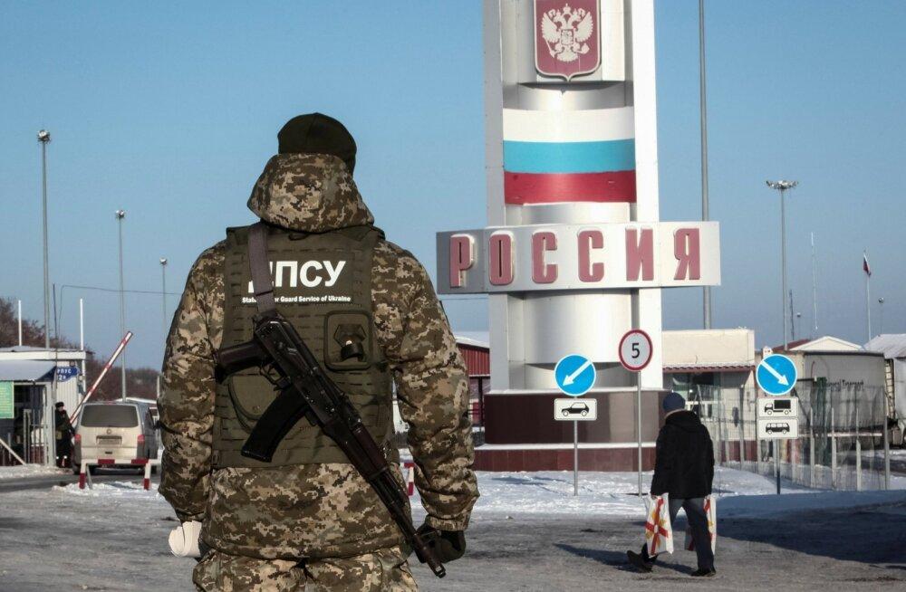 Ukraina keelas riiki sisenemise meessoost Venemaa kodanikele