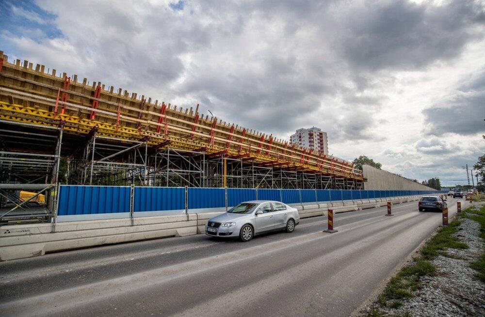 Haabersti ristmiku ehitus 29.08.2017