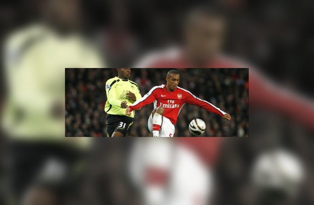 Arsenali jalgpallur Jay Simpson