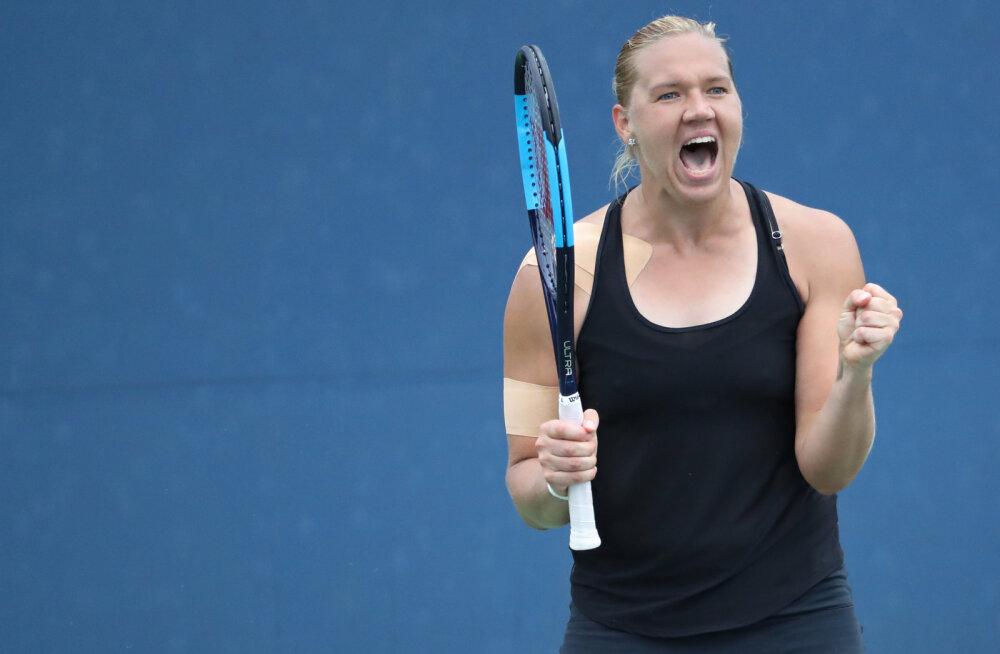 MAAILMAKLASS | Kaia Kanepi võitis 6:4, 6:4 ja pääses US Openi veerandfinaali!