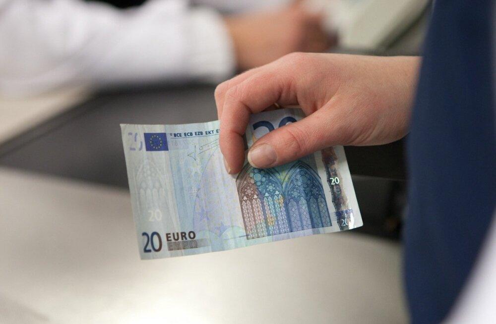 Kaubandus - inimesed harjuvad eurodega