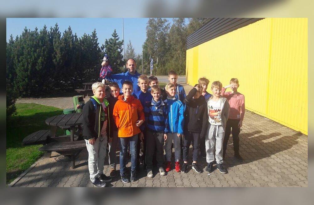 SK Nord/Tiit Soku Korvpallikooli 2007 poiste võistkond