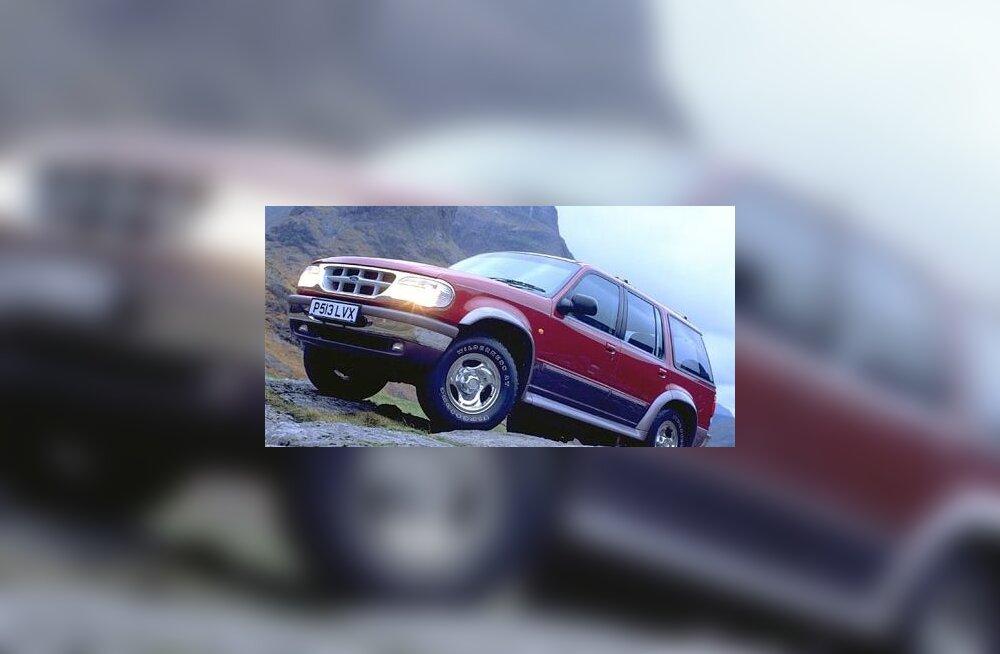 Ford sai tänu Firestone'i rehvidele miljonite menukate Exploreritega vastu pükse