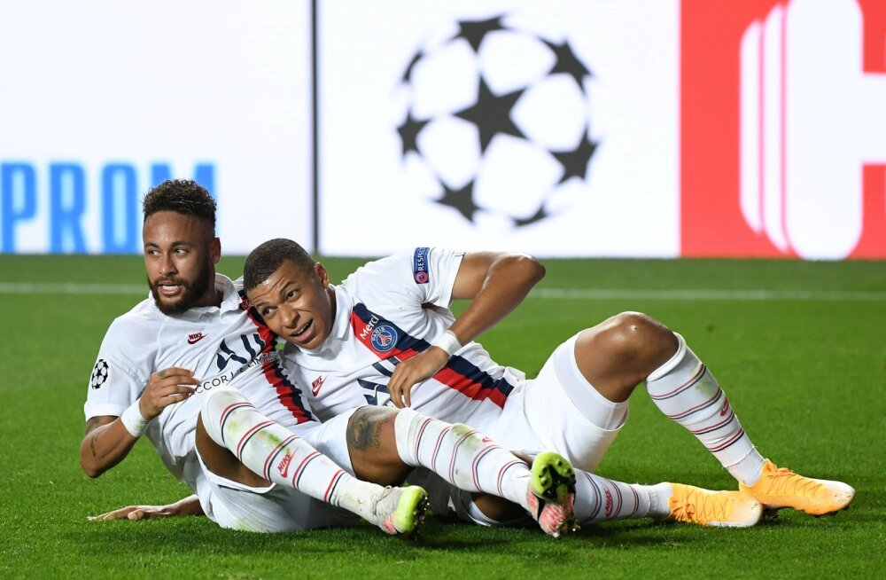Neymar ja Kylian Mbappe võivad lõpuks rõõmustada - PSG on Meistrite liigas poolfinaalis.