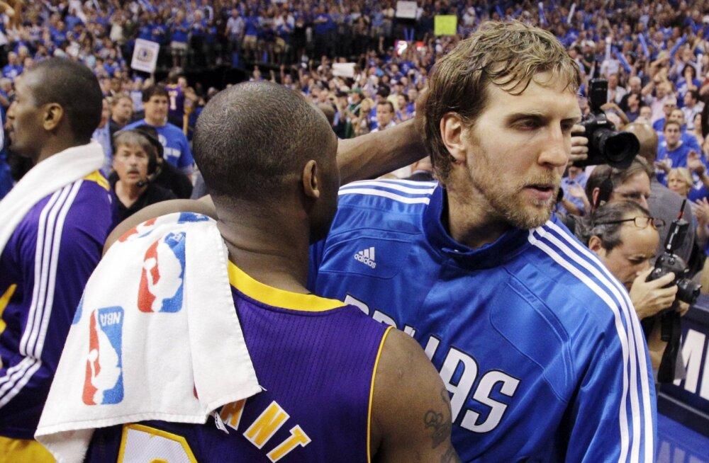 Dirk Nowitzki varalahkunud Kobe Bryantist: ma ei saa tema surmast ilmselt kunagi üle
