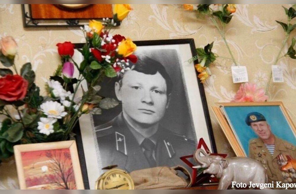 День рождения погибшего земляка отметили ветераны ВДВ и одноклассники