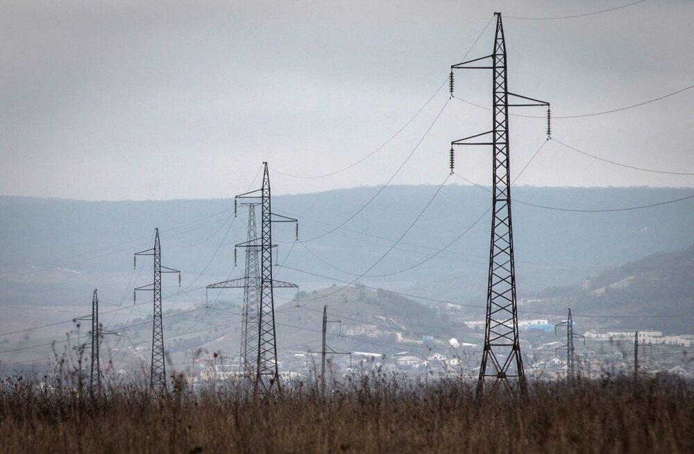 Ukraina peatas Luganski oblasti okupeeritud osade elektriga varustamise