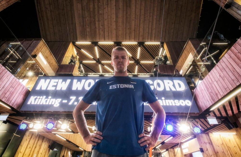 VIDEO: Kaspar Taimsoo püstitas kiikingus uue maailmarekordi!