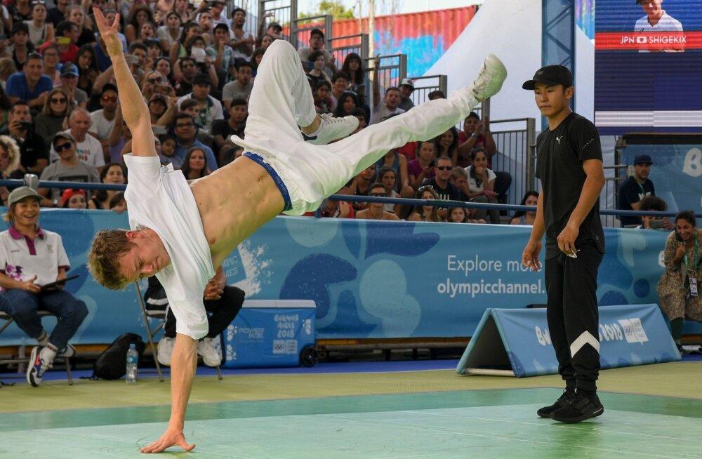 Breiktantsu noorte olümpiavõitja Bumblebee