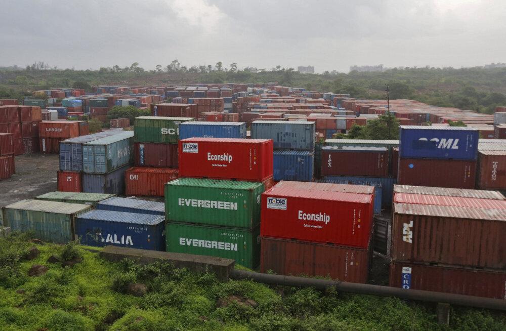 India suurim konteinervedude sadam on osaliselt lunaraharünnaku tõttu rivist väljas